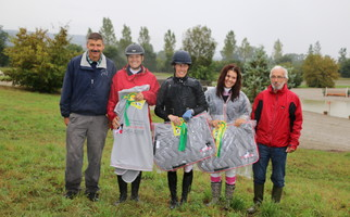 IENA Horse Trails 4 jr - podium